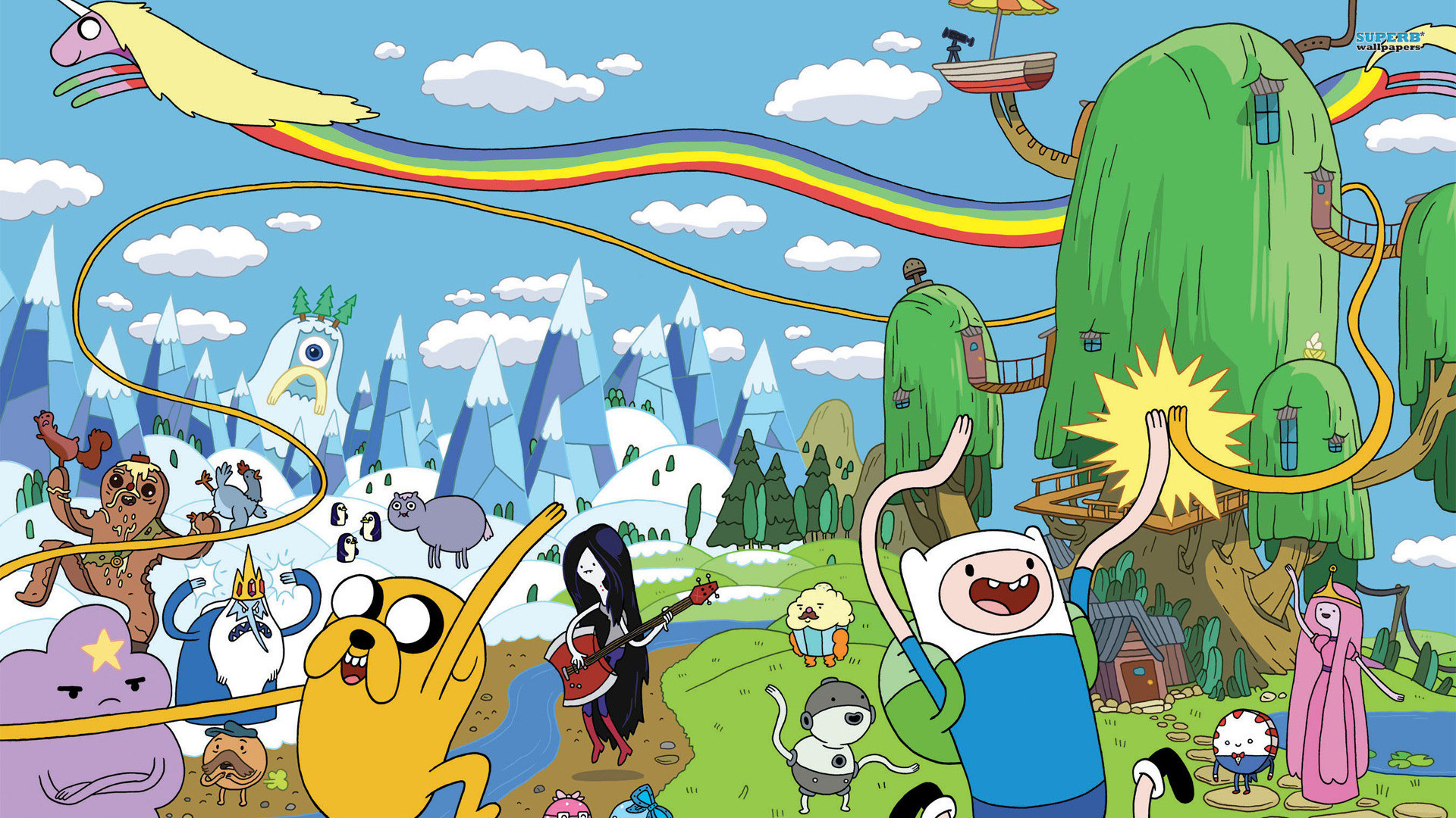 Adventure Time Wallpapers New Tab