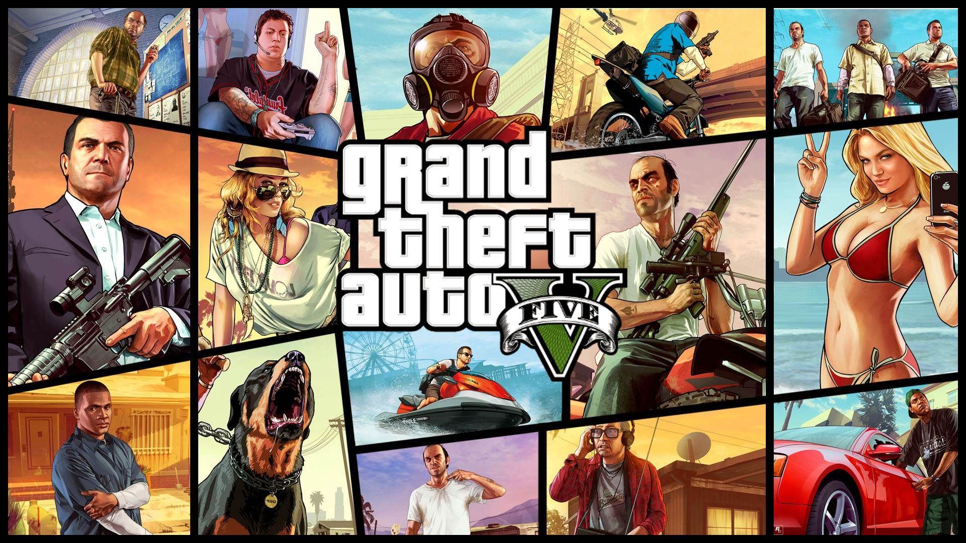 Grand Theft Auto V New Tab