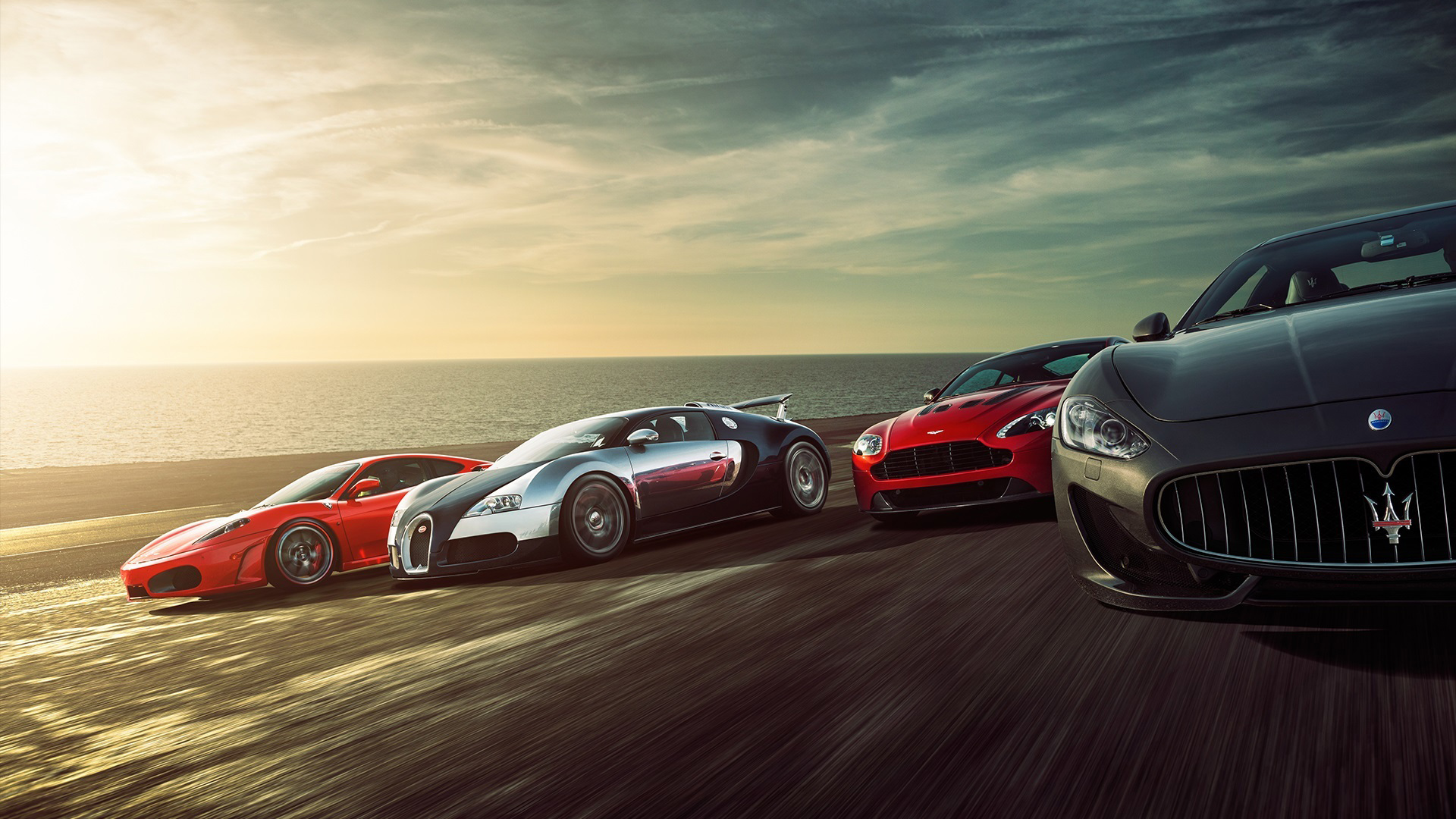 Super Sports Cars HD Wallpaper New Tab